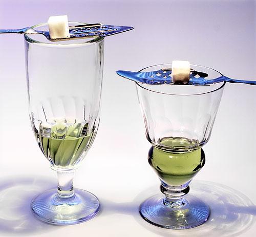 Традиционный способ питья абсента
